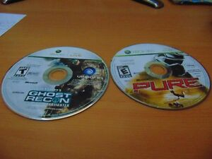 xbox 360 games Pure and Ghost Recon