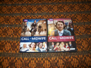 Call the Midwife BBC Season 1 and 2 dvd