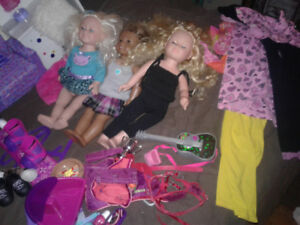 American Girl/MyLife/Journey Girls Dolls and Accessories.