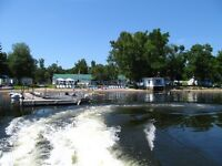 Free Pontoon Boat Tour with Cottage Rental
