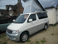 MAZDA BONGO 2.5 CAMPER LIFTING TOP 1999 FACELIFT WITH REAR CONVERSION