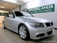 BMW 320 320d M SPORT AUTO [3X SERVICES and FULL LEATHER INTERIOR]