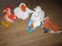 Stuffed animals - 10 for all or offer