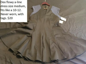 4f3f54f9b128b A-line dress by Dex size 10-12