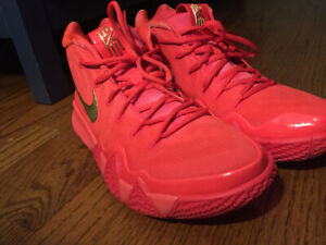 Nike Kyrie 4 red Carpet GREAT CONDITION  AUTHENTIC Size 10