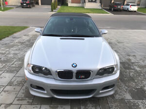 2001 BMW M3 E46 CONVERTIBLE SHOWROOM CONDITION LOW KM