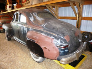 RARE 1948 CANADIAN 114 BUSINESS COUPE