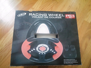 PlayStation racing wheel