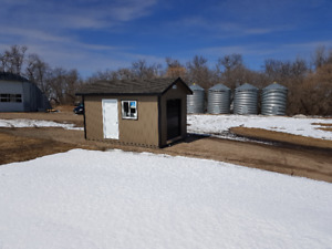 Well Built 10x16 storage shed