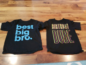 Huge selection of 5T shirts - $2 each