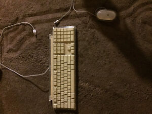 Apple pro keyboard and mouse