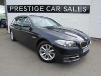 2014 BMW 5 Series 2.0 518d SE Touring 5dr Diesel blue Manual