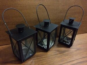 Outdoor candle boxes