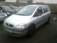 Vauxhall/Opel Zafira 1.6i 16v 2004MY Life