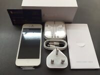 Sim free unlocked iPhone 5 brand new condition with full accessories 12 months warranty