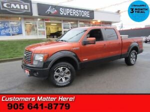 2012 Ford F-150 FX4  4X4 CREW LEATHER HS CS CAM MEMORY 18 WHEELS
