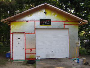 PRE-FABED GARAGE, READY TO INSTALL