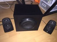 LOGITECH 2.1 SPEAKERS THX CERTIFIED WITH AMAZING SOUND!!