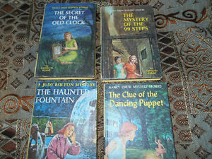 Nancy Drew books and one Judy Bolton Mystery
