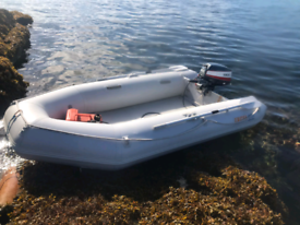 Excel 330SD inflatable SIB dingy.