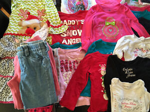 Large lot of girls clothing size 4 Windsor Region Ontario image 3
