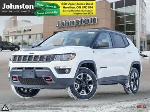 2018 Jeep Compass Trailhawk 4x4  - Leather Seats  - $108.30 /Wk