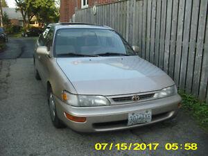 1997 Toyota Corolla DX Sedan