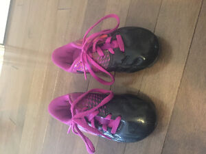 Girls Adidas Soccer Cleats Size 10 and Umbro Soccer Socks