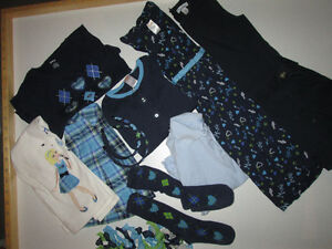 Girls Lot #6 - Gymboree 'Music' & matching Old Navy sz 7/8