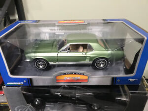 Chevrolet Mustang Coupe 1967 diecast 1/18 die cast