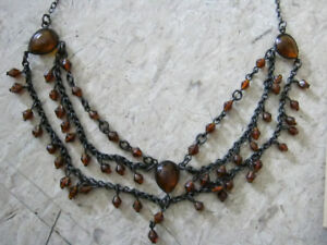 Amber Chain Necklace