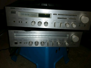 2 Yamaha receivers