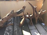 2 xxl show piece driftwood for fish tanks and aquariums