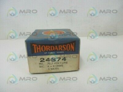 Thordarson 24s74 Output Transformer New In Box