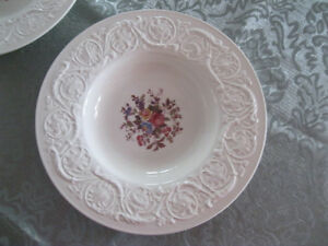Wedgewood Rimmed soup bowls