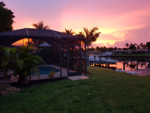 Cape Coral Fort Myers Florida Gulf Coast vacation rental.