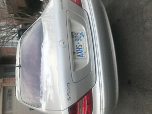 Mercedes sedan s500