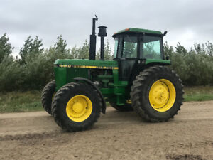 JD 4450 MFWD tractor