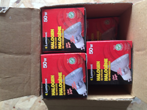 50 Watt Halogen Bulbs for Pot Lights etc