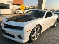 2011 CHEVROLET CAMARO SS 6.2 V8 COUPE WHITE LHD MODIFIED SHOW RACING TRACK CAR
