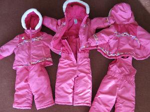 Habit hiver 24 mois-  snow suit