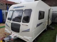 2010 Bailey Pegasus 462 2 Berth End Washroom Caravan with Motor Mover