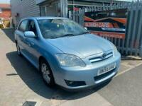 2005 Toyota Corolla 1.6 VVT-i Colour Collection 5dr HATCHBACK Petrol Manual
