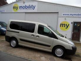 Peugeot Expert Tepee 4 Seat Wheelchair Scooter Accessible WAV MPV