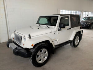 JEEP WRANGLER SAHARA *TRAIL RATED *TOIT MOU *MAGS 18P *AIR