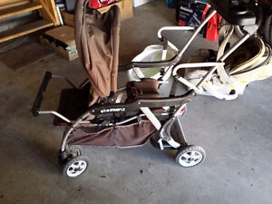 baby items-bathtub $3 ,baby double stroller...