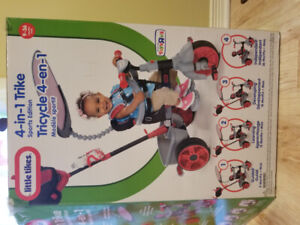 LITTLE TIKES 4-IN-1 Trike (Sports Edition)