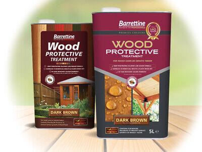 Barrettine Wood Protective Fence Treatment - 1L, 2.5L, 5L,  Same Day Dispatched