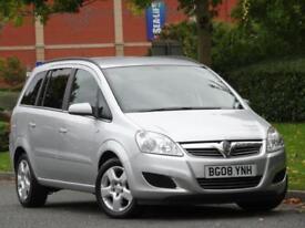 7 SEATER Vauxhall Zafira 1.6 16v 2008 +FULL VAUXHALL SERVICE HISTORY+WARRANTY