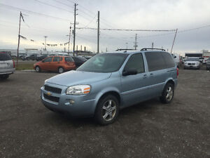 2007 CHEVROLET UPLANDER ★ 4 CAPTAIN CHAIRS ★ DVD ★ REMOTE START